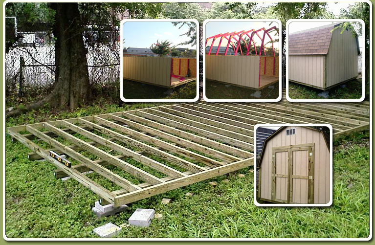 10X12 Storage Shed Plans – Learn How To Build A Shed On A Budget