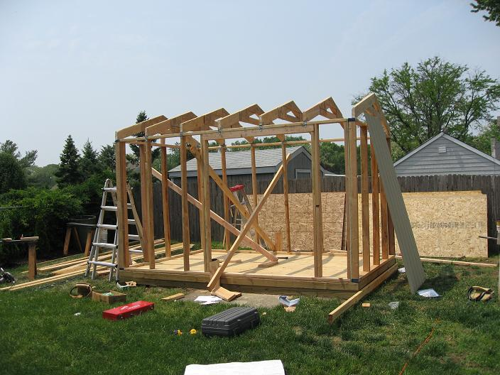 10x12 Storage Shed Plans Learn How To Build A Shed On A