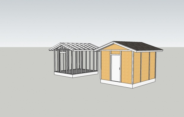how to build a shed on a budget