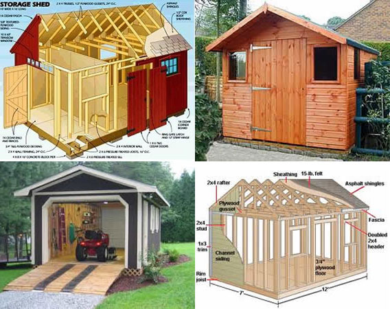 Wood Storage Shed Plans 10x12 Build Tool Shed Farm Story