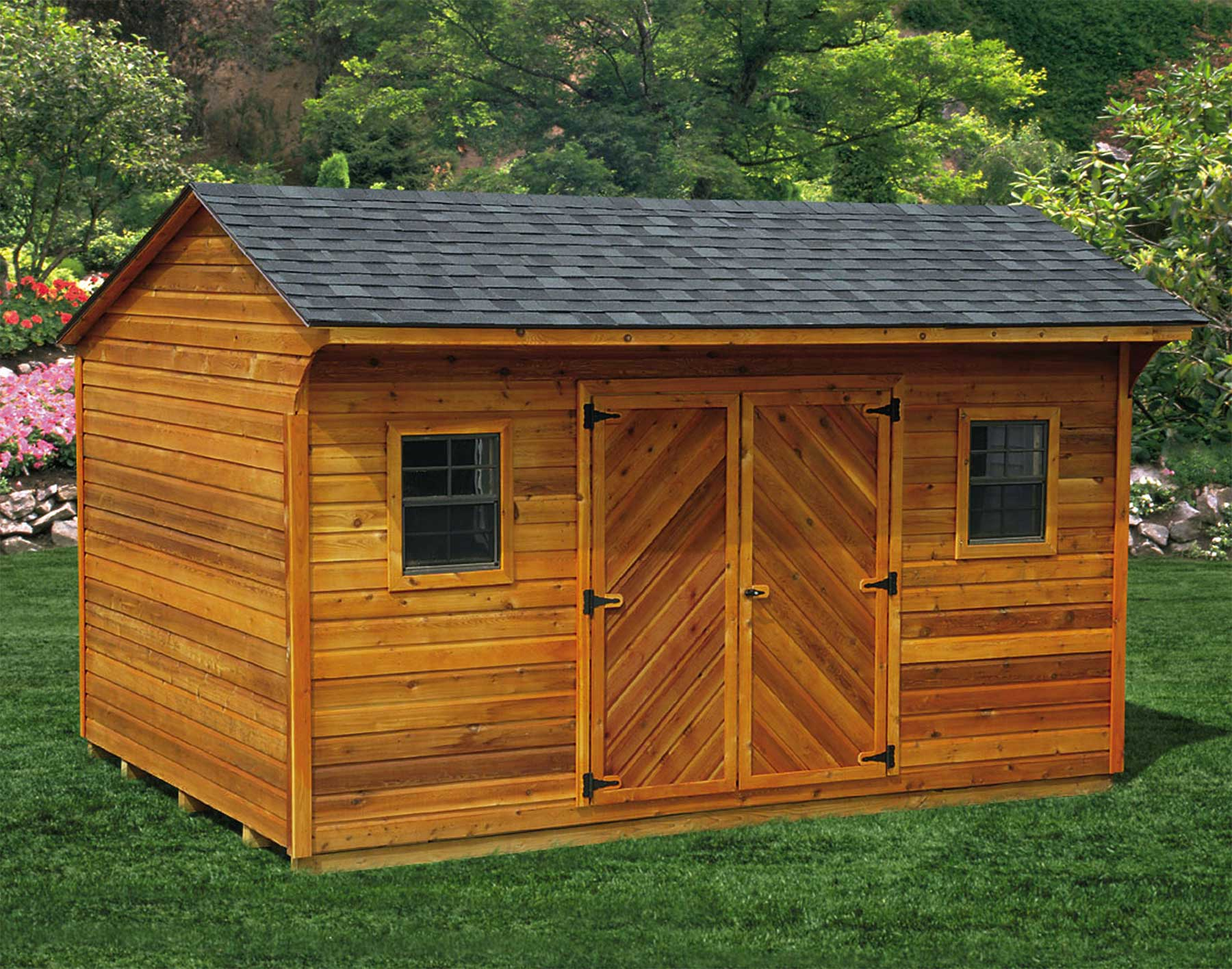 Back Yard Storage Sheds