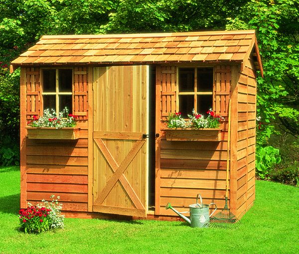 backyard storage shed