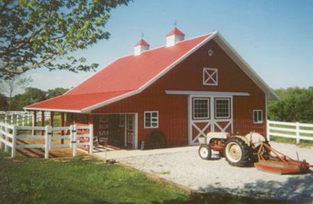 American Barns for Your Horses