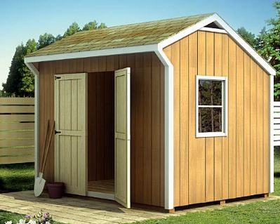 Do it yourself shed plans save big bucks in the for Free shed design software with materials list