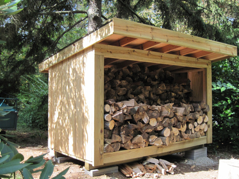 Free firewood shed designs are they really worth it for Wood storage building plans