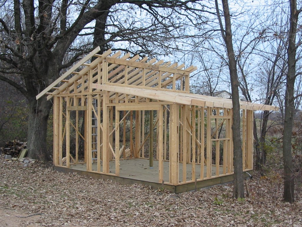 How to design your outdoor storage shed with free shed for Shed construction