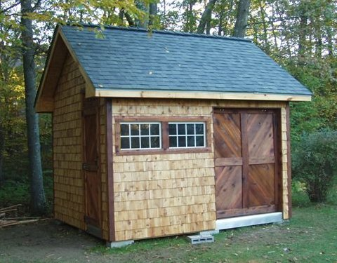 Garden Storage Shed Plans Free