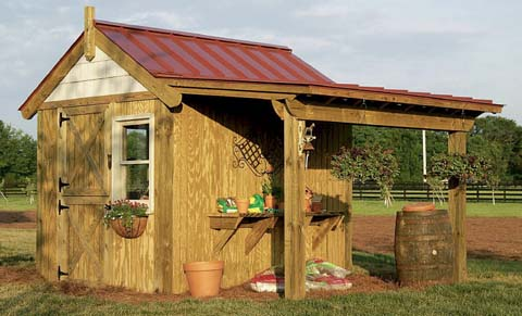 garden potting shed designs storage shed ideas designs - Shed Ideas Designs