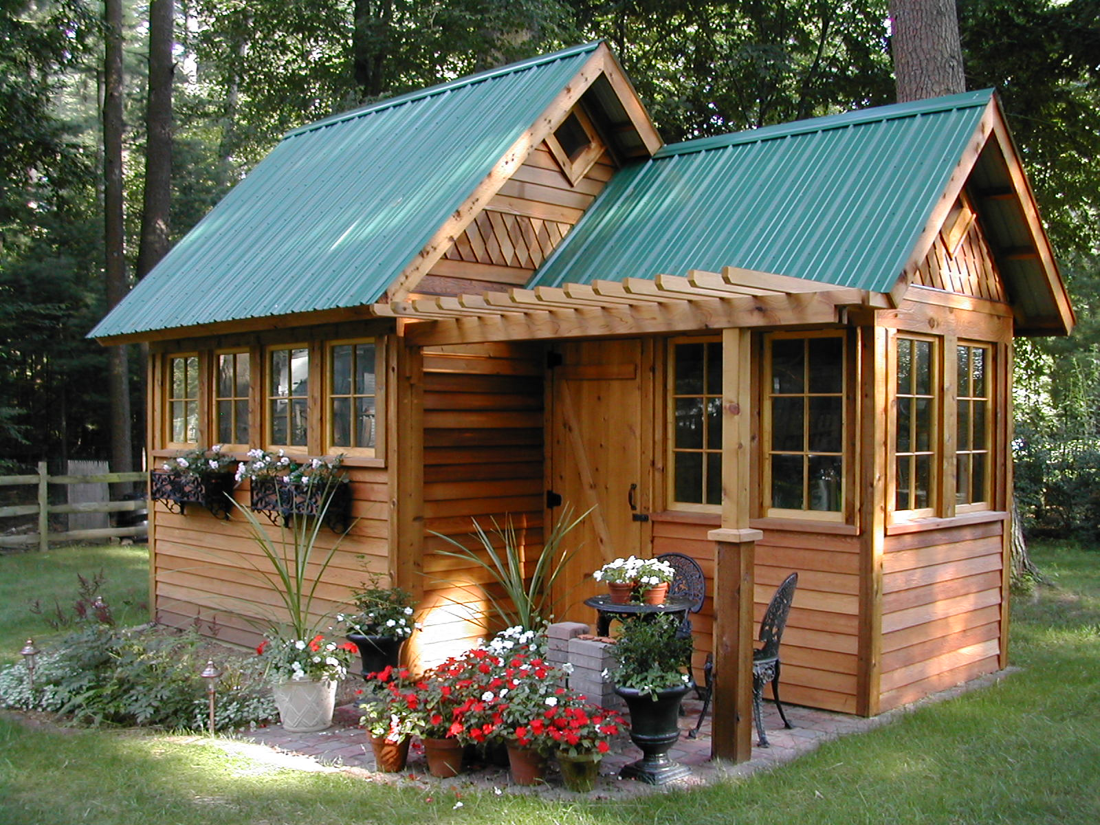 buy greenhouse garden shed combo plans shedbra
