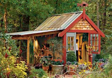 Garden Hut Design Native Garden Design