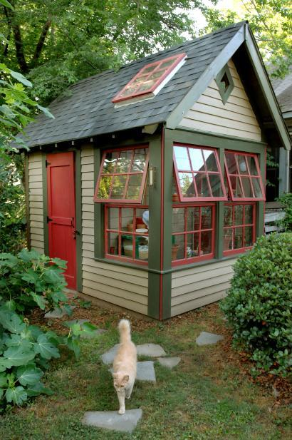 Using A Garden Shed As A Home Office | Cool Shed Design