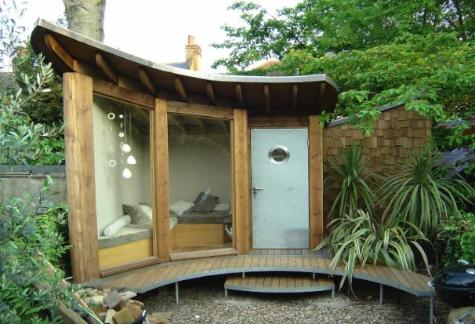 What s important about designs for garden sheds cool for Quirky house designs