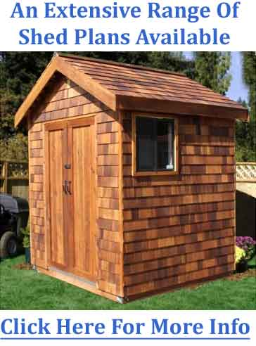 build it yourself shed plans