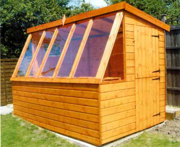 Potting shed greenhouse plans images Green house sheds