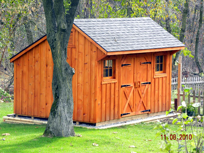 Tidy Up Your Lawn With A Do It Yourself Shed Cool Shed