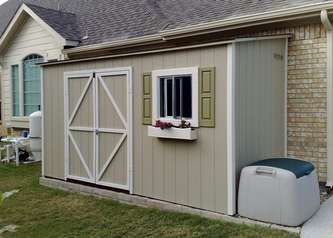 Lean To Storage Shed