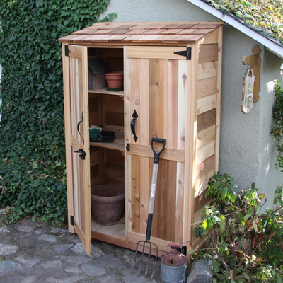 Benefits of lean to garden sheds cool shed deisgn for Outdoor tool shed