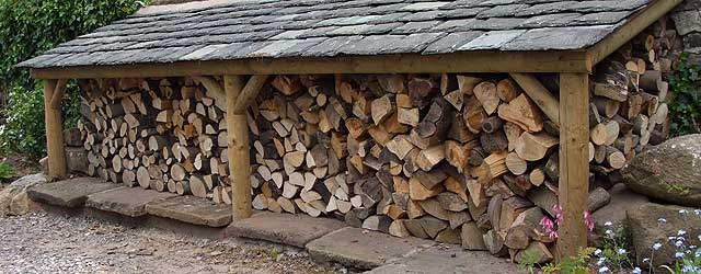 How to build a log shed begins with using the proper plans for Log store plans pdf
