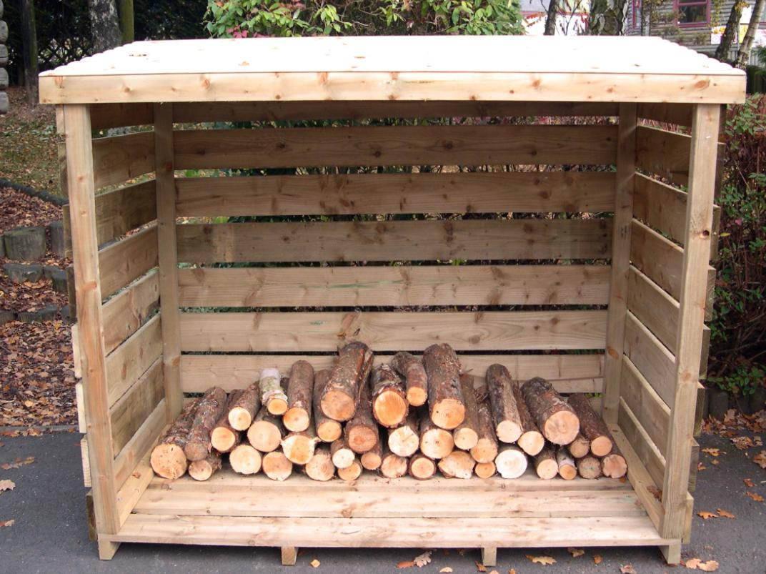 How to build a log shed begins with using the proper plans for Log shed design
