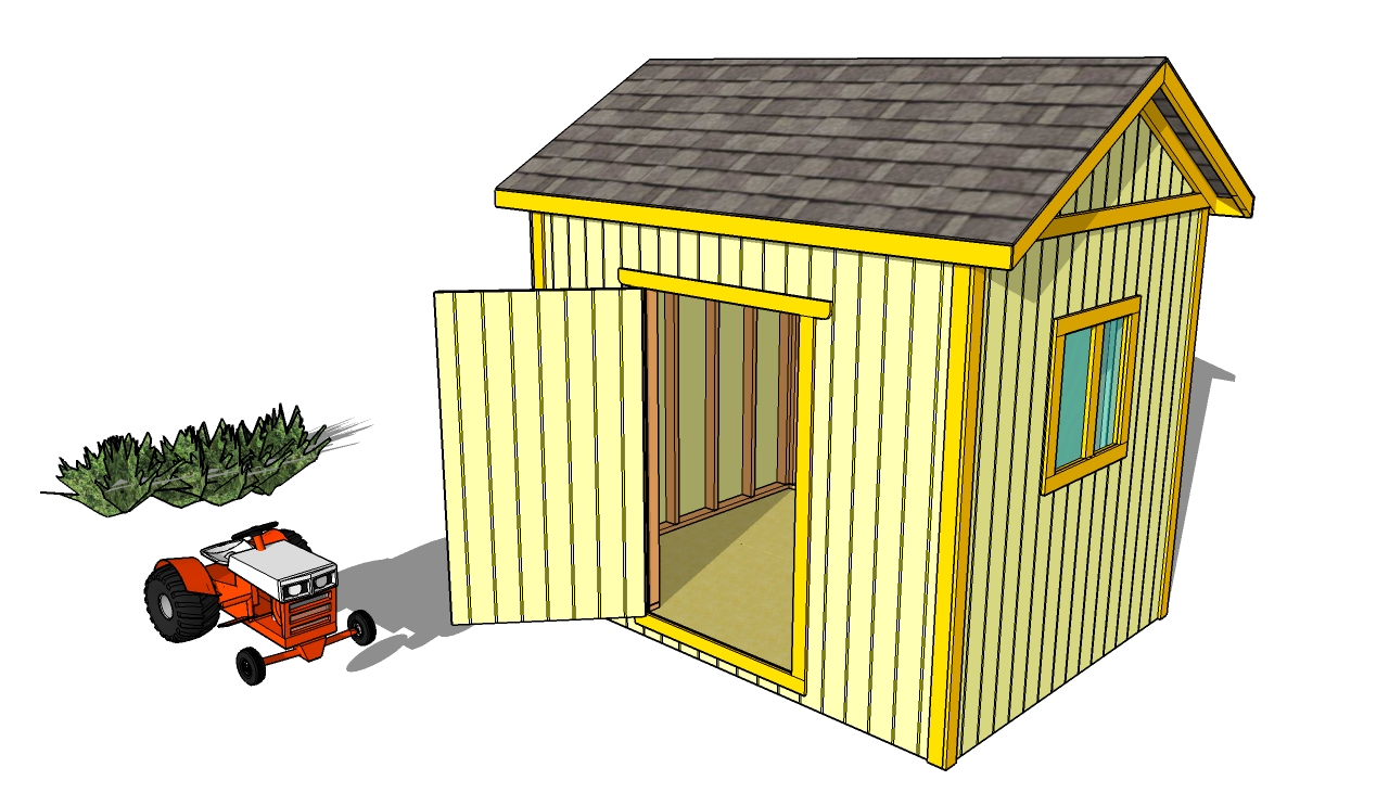 Simple shed plans in building your own outdoor sheds for Outdoor structure plans