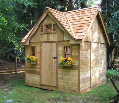 Simple Shed Plans in Building Your Own Outdoor Sheds