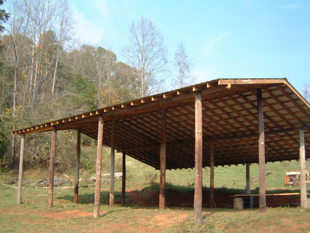 How to build a pole shed plans quick woodworking projects for Cool pole barns