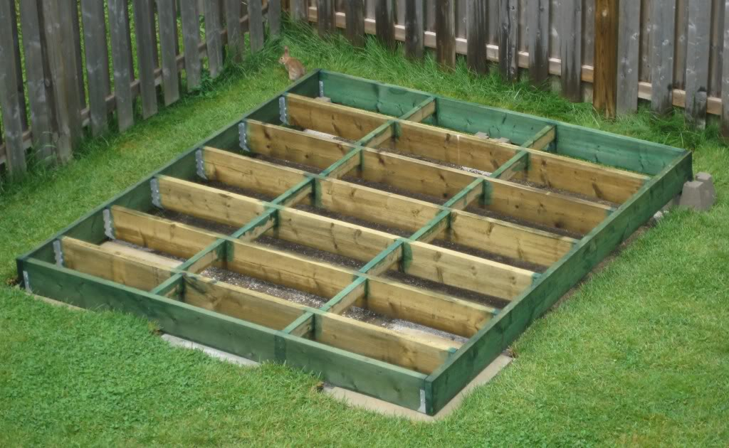 How To Plan And Build A Shed Base