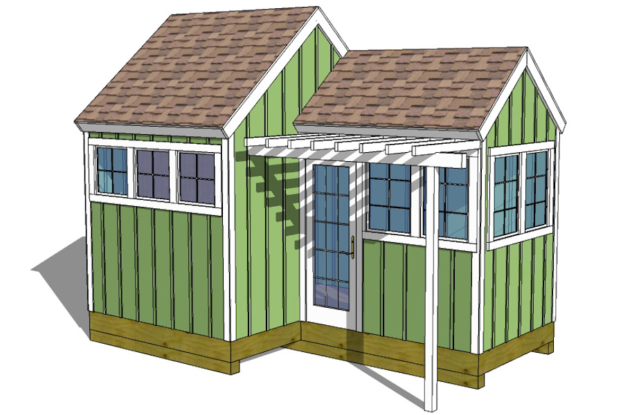 Storage Shed Plans With Porch Build a Garden Storage Shed Cool