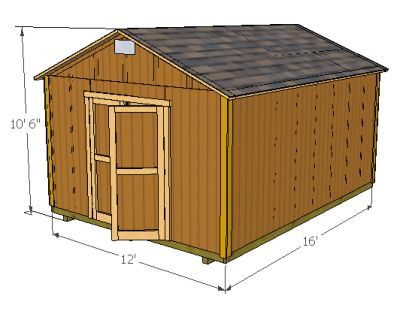 Garden Shed Drawings - Cool Shed Deisgn