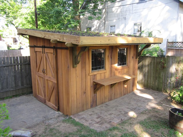 Outside Shed Ideas : Amish Sheds Designs  Cool Shed Design