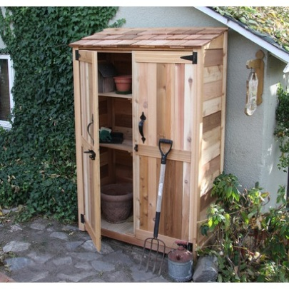 Outdoor shed big ideas for small backyard destination for Outdoor garden shed
