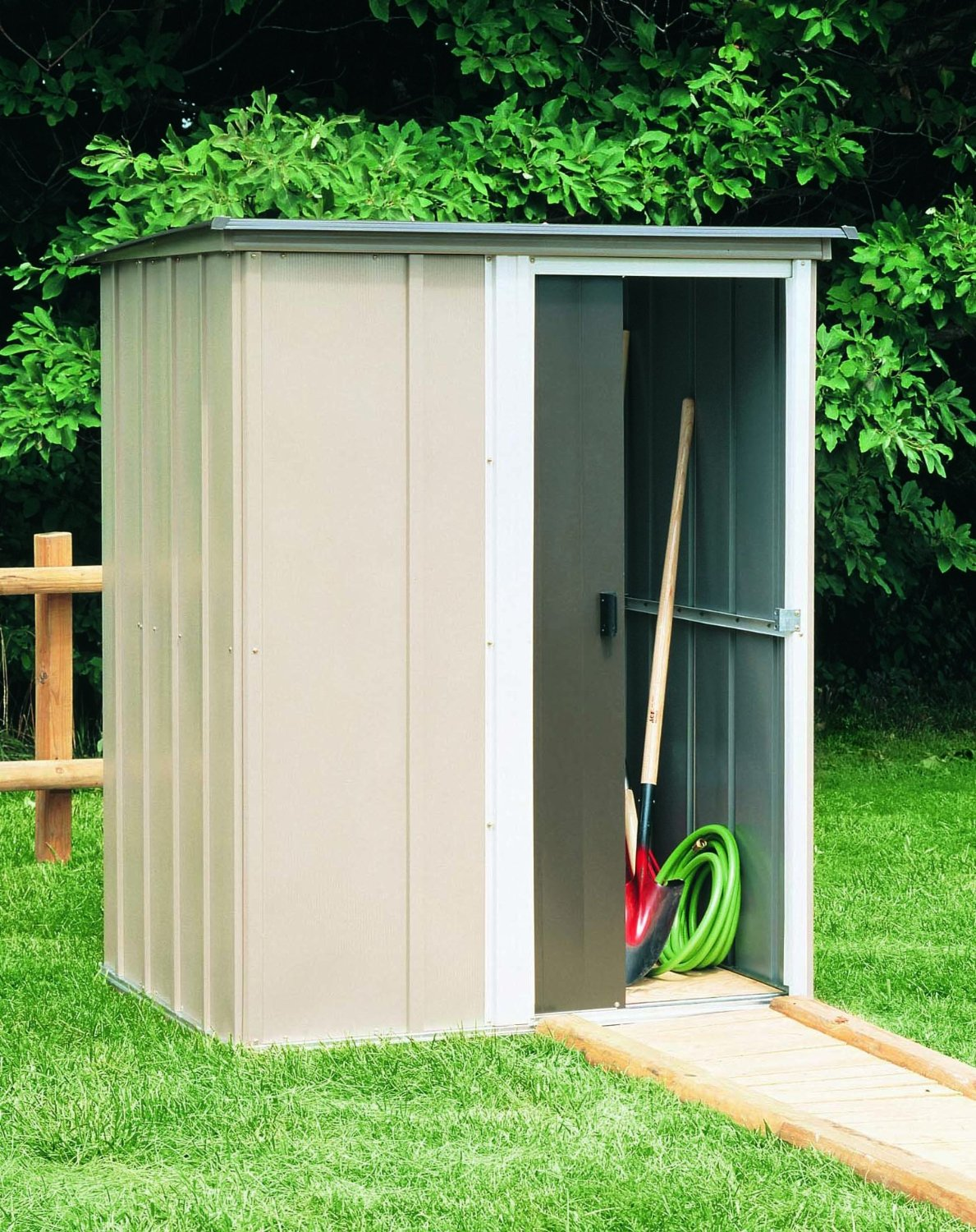 Steel Storage Sheds : How can you prevent a steel storage shed from rusting