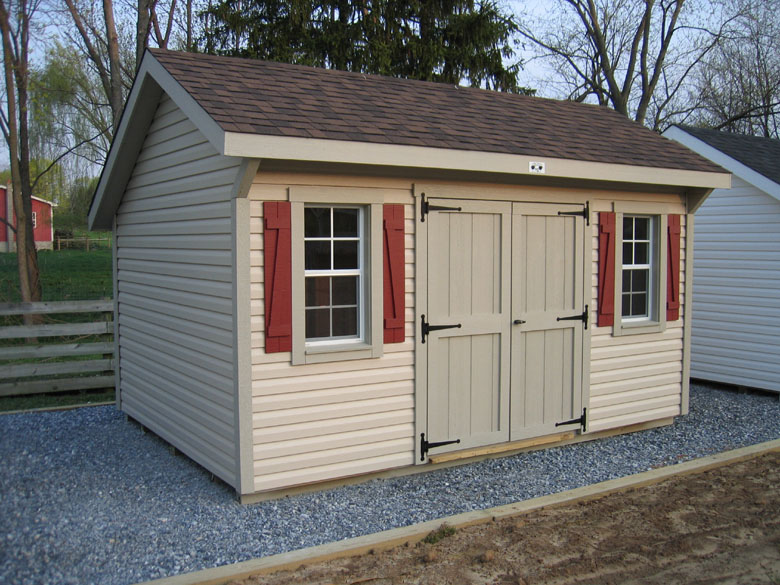 Build storage shed trusses small sheds for sale cheap for Backyard garages