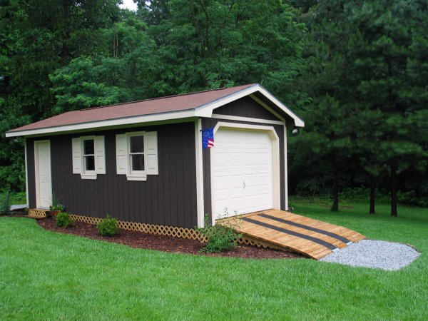 The many types and designs of outdoor storage sheds cool - Garden storage shed ideas ...