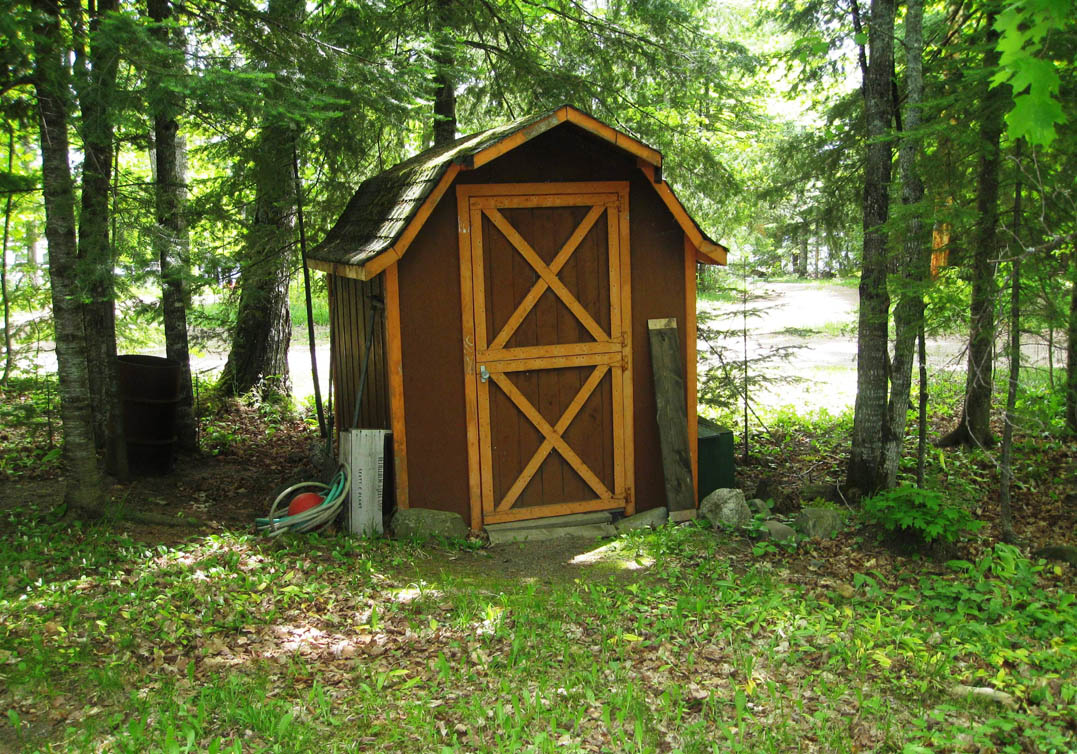 Shed Pictures Design: The Modern Compact Tool Shed