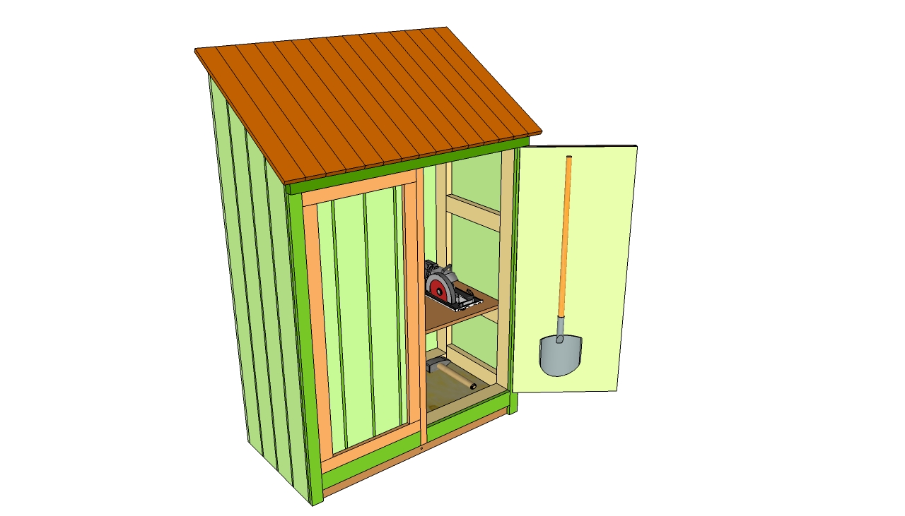 Tool shed plans cool shed deisgn for Small tool shed