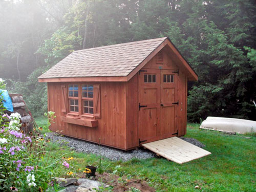 Garden Shed Materials – The Various Types and Their Unique Characteristics | Cool Shed Design