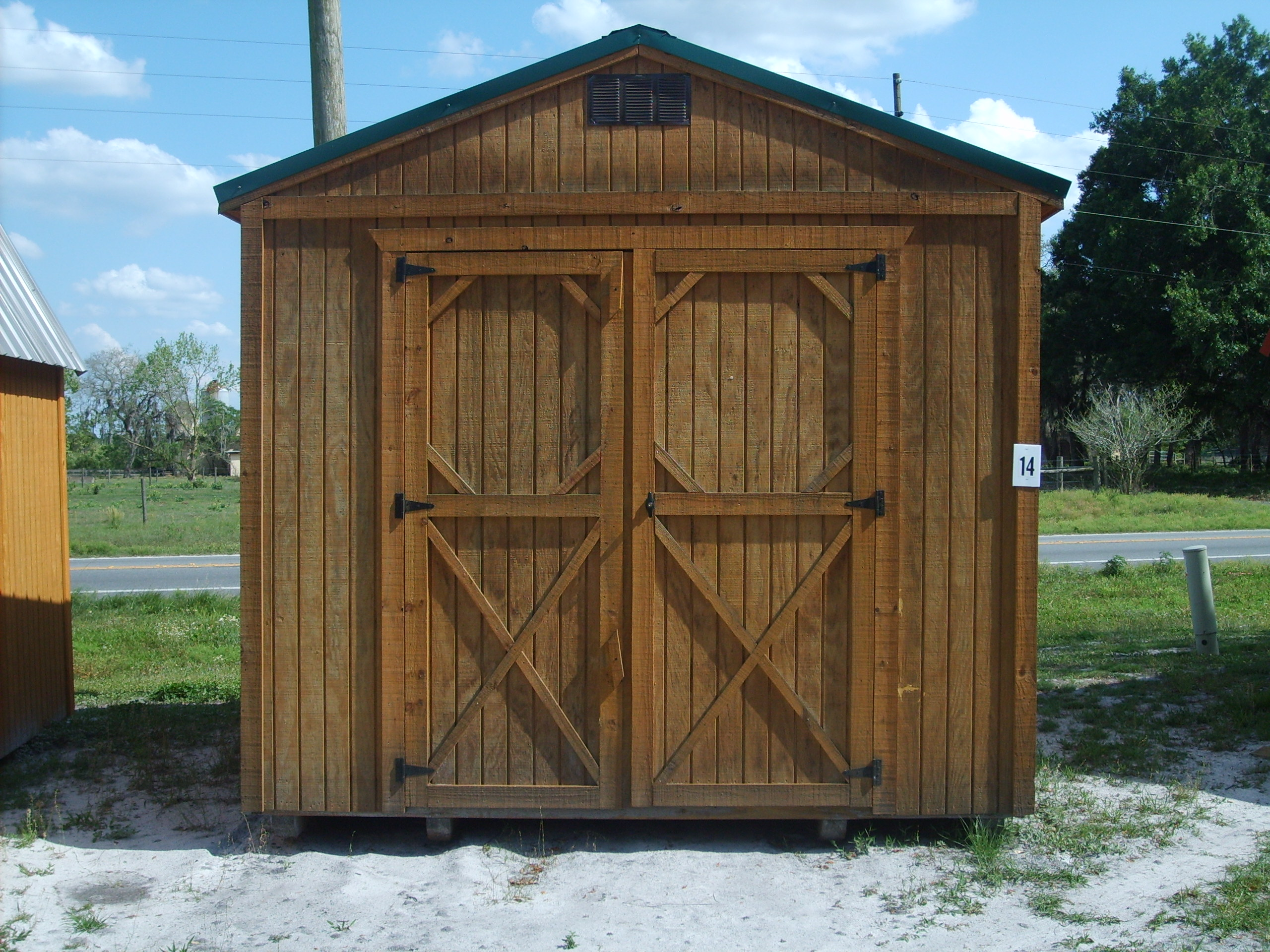 Need storage or work space consider a utility shed cool for Utility storage shed