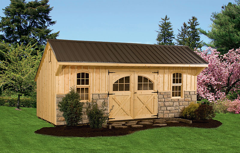 10 16 gable shed plans affordable utility shed plans for for Outside buildings design