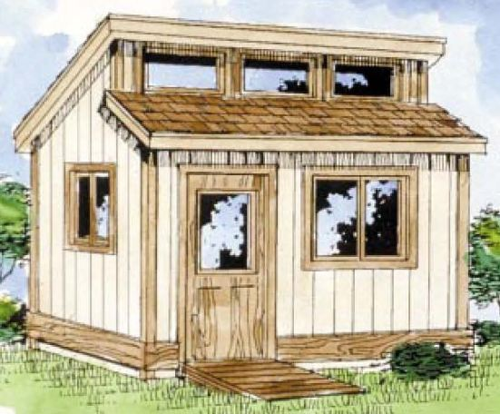Best for study free gable garden shed plans for Clerestory shed plans