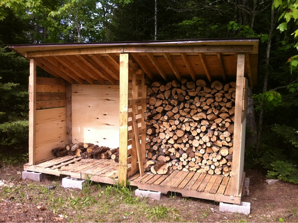 Free Wood Shed Building Plans