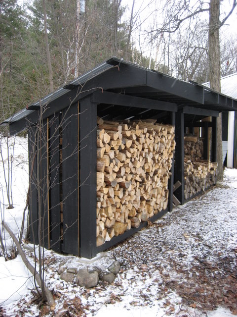 Wood Sheds Designs That Ensure a Clean, Hot Burning Fire | Cool Shed ...
