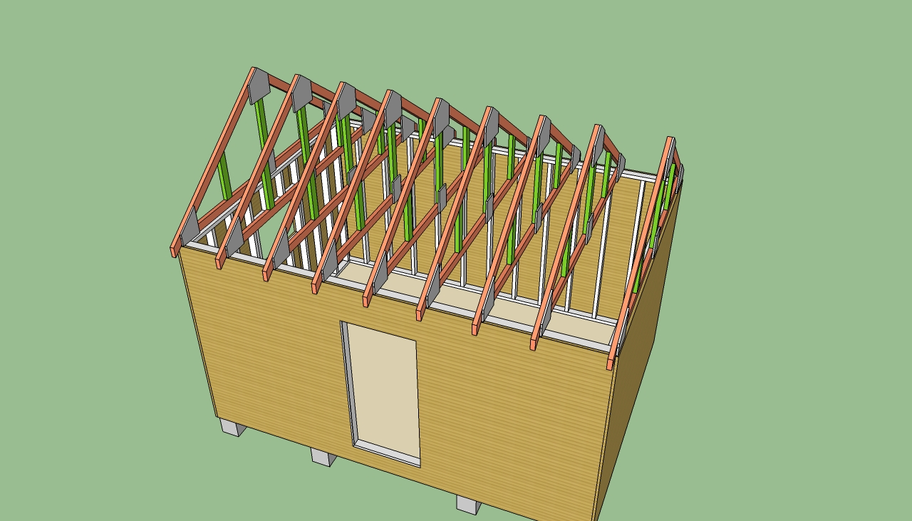 Log storage shed designs shedbra for Wood storage building plans