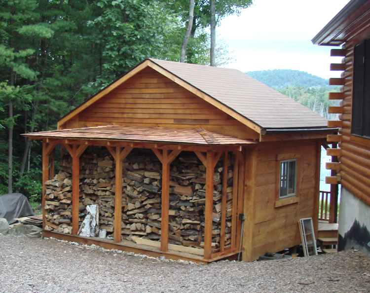 wooden storage shed plans