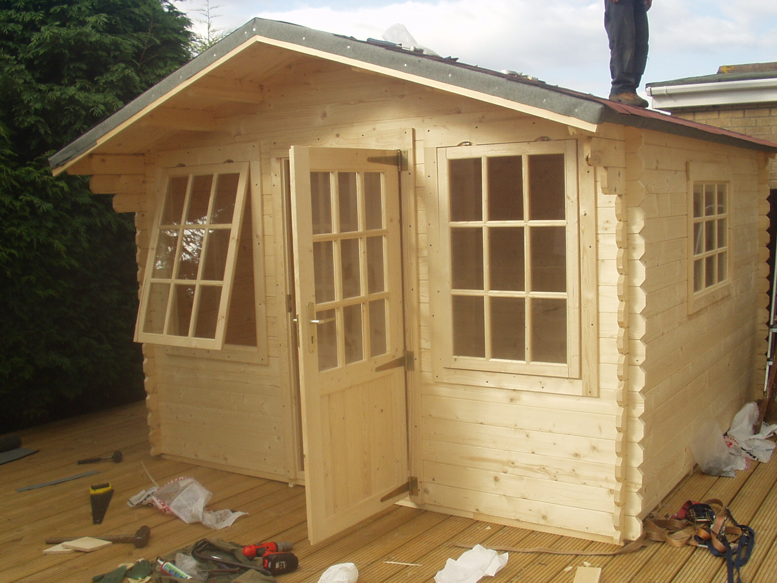 next build a shed on skids 78