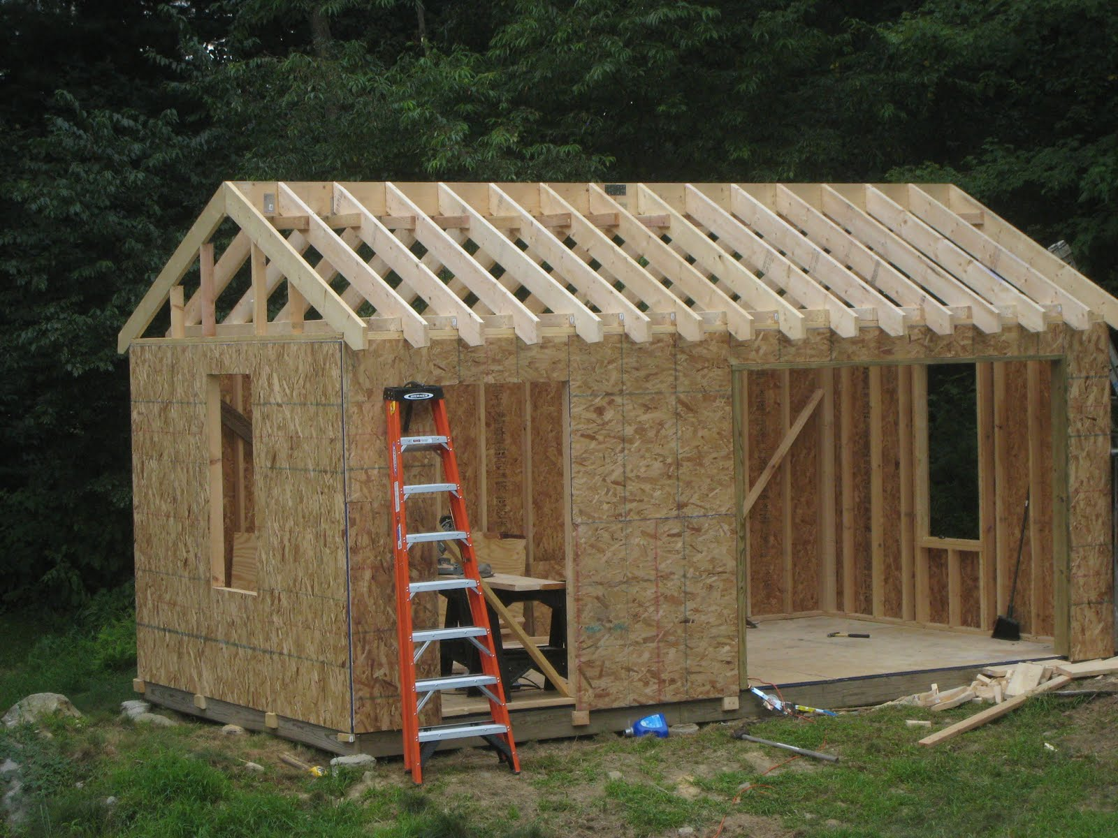 Build Cabin Plans With Loft Diy Pdf Wood Podium Plans Do: How To Build A Shed On Skids