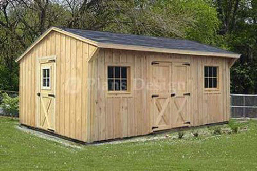 12×32 Shed Plans : What Efairly And Every Homeowner Should ...