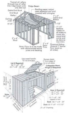 12×32 Shed Plans
