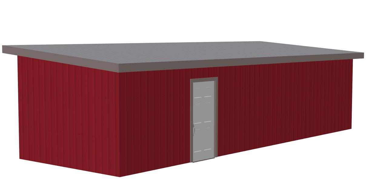 12×36 Shed Plans