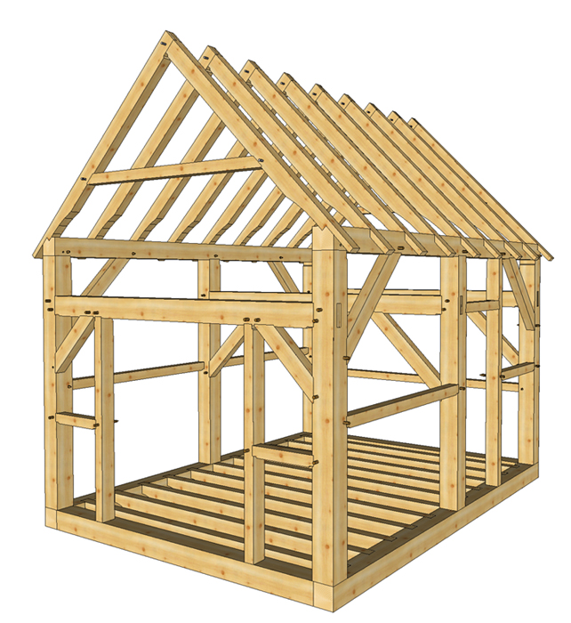16 X 16 Shed Plans